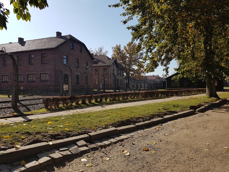 Zdjęcie obozu Auschwitz