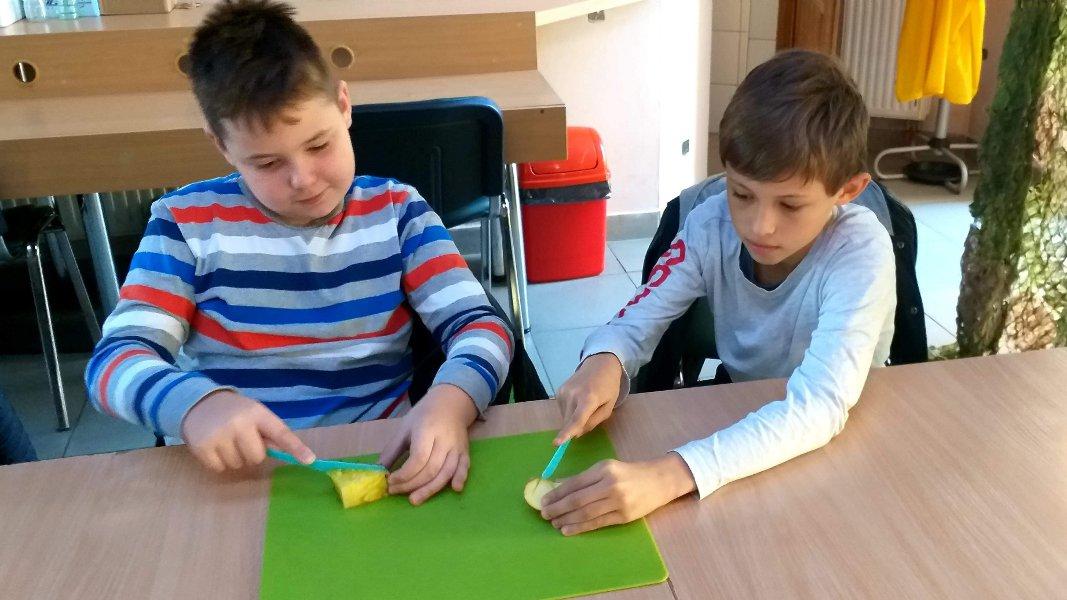 Zdjęcie dzieci na warsztatach