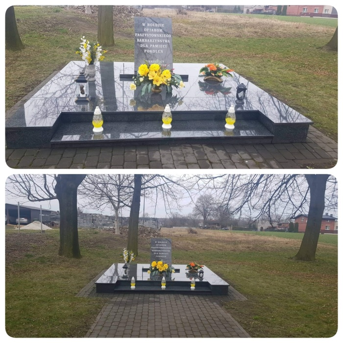 Zdjęcia Pomnika przy ul. Kolejowej w Ornontowicach