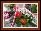 Zdjęcia dzieci na Cmentarzu w Ornontowicach