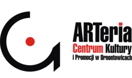 Logo Centrum ARTeria z odnośnikiem do strony http://centrumarteria.pl/