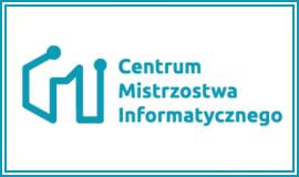 Logo CMI z odnośnikiem do strony https://cmi.edu.pl/