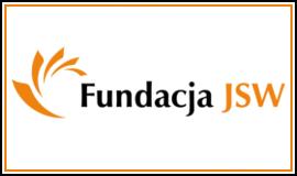 Logo Fundacji JSW z odnośnikiem do strony https://www.fundacjajsw.pl/
