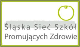 Logo Śląska Sieć Szkół Promujących Zdrowie z odnośnikiem do strony https://www.metis.pl/content/view/1182/40/